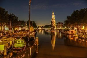 Gideons, Amsterdam, Grachten