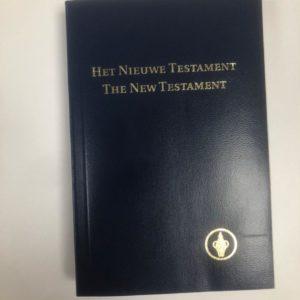 Gideons, Bijbel, Tweetalig, Engelse Bijbel,